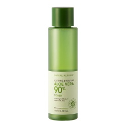 Nature Republic Aloe Vera 90% Soothing & Moisture Toner 芦荟舒缓保湿爽肤水